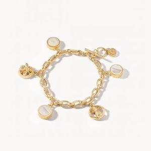 Spartina Sticky Sweet Charm Toggle Bracelet